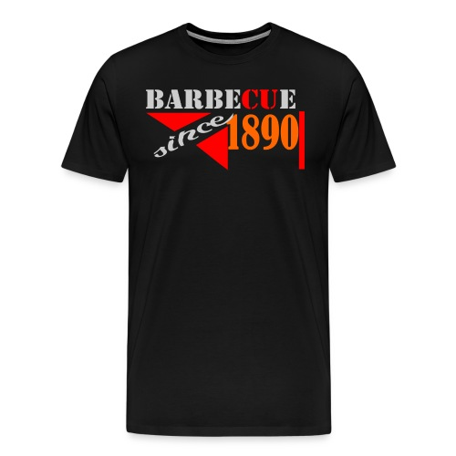 Barbecue T-Shirt Schwarz - Männer Premium T-Shirt