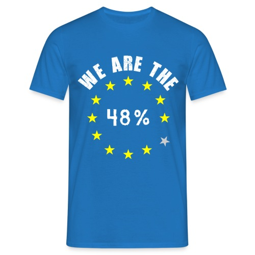 We are the 48% Mens T-shirt - Men's T-Shirt