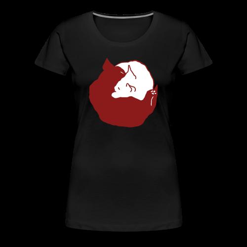 YinYang, Frauen T-Shirt - Frauen Premium T-Shirt