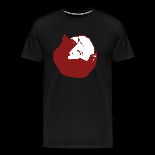 YinYang, Männer T-Shirt - Männer Premium T-Shirt