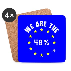 We are the 48% Coasters - Coasters (set of 4)