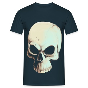 Light Alpha Skull Men's T-shirt - Men's T-Shirt