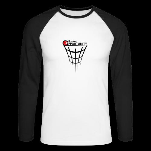 T-Shirt Basket Opportunikty long - Maglia da baseball a manica lunga da uomo