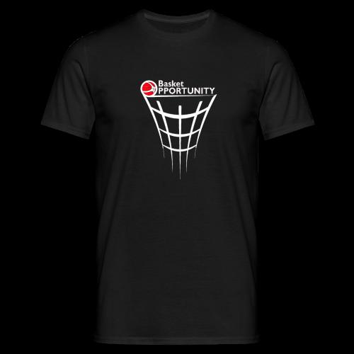 T-shirt Basket Opportunity logo White - Maglietta da uomo