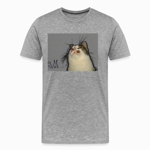 Mongolith Premium T-Shirt men grey - Männer Premium T-Shirt