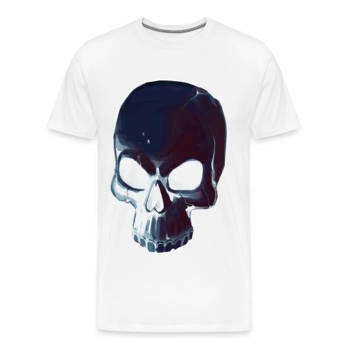 Dark Alpha Skull Men's premium T-shirt - Men's Premium T-Shirt