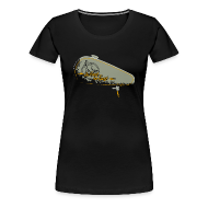 T-Shirts ~ Frauen Premium T-Shirt ~ CHROMELESS //  I.R.W.T.