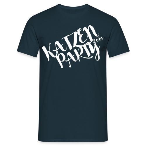 Katzenparty T-Shirt - Männer T-Shirt