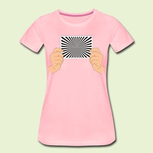 Siemensstern  - handlich und praktisch (farbig) - Frauen Premium T-Shirt