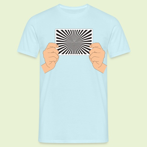 Siemensstern  - handlich und praktisch (farbig) - Männer T-Shirt