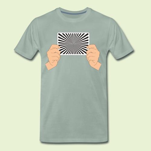 Siemensstern  - handlich und praktisch (farbig) - Männer Premium T-Shirt