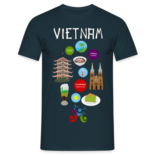 Vietnam - Men's T-Shirt