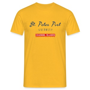 T-Shirt: St. Peter Port, Guernsey - Männer T-Shirt