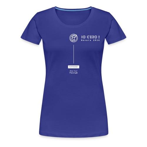 T-shirt Donna - Novara 2016 - Maglietta Premium da donna