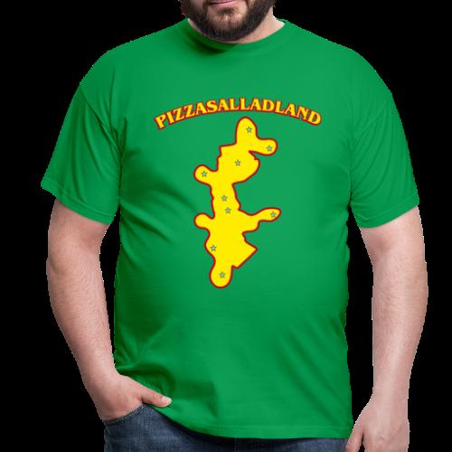 T-shirt, Pizzasalladland - T-shirt herr