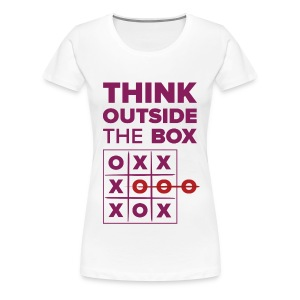 Outside the box - Women's Premium T-Shirt