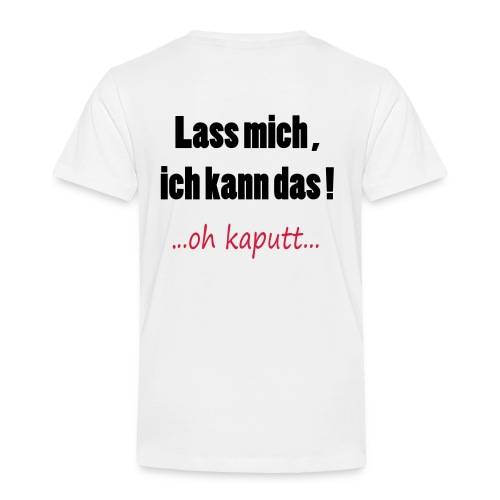 Kinder T- Shirt - Kinder Premium T-Shirt