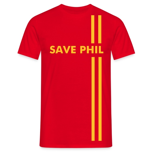Save Phil T-Shirt - Men's T-Shirt