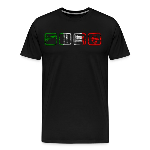 T.E.S.R. Italy - Männer Premium T-Shirt