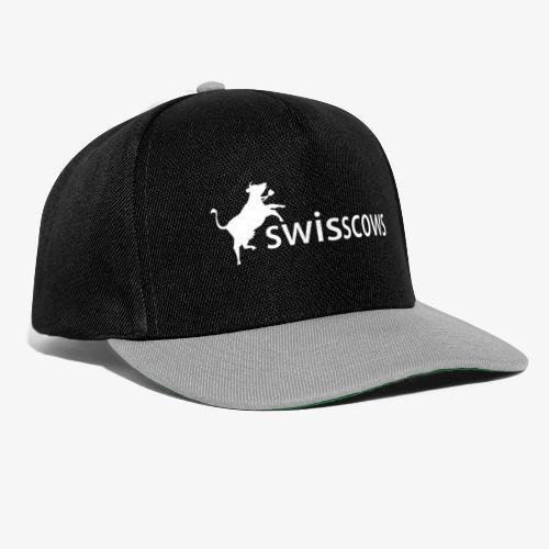 Snapback Cap schwarz/grau - Snapback Cap
