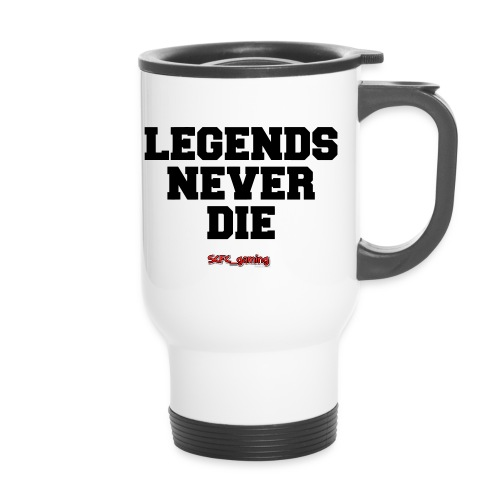 legends never die travel mug - Travel Mug