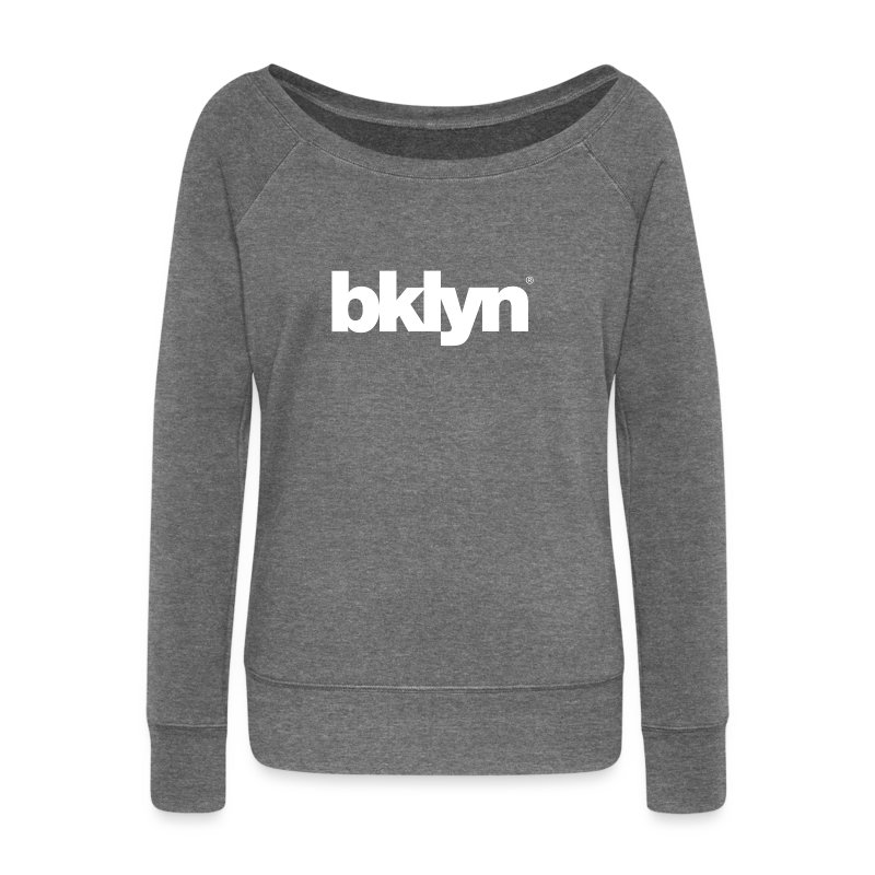 bklyn - Women's Boat Neck Long Sleeve Top