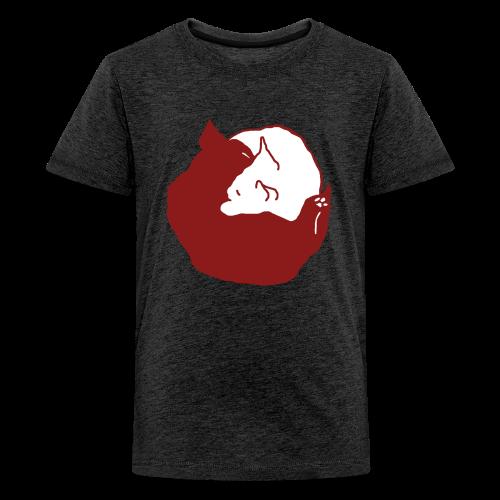 YinYang, Teenager T-Shirt - Teenager Premium T-Shirt