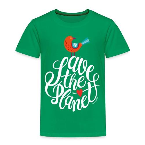 Save the Planet – Kindershirt - Kinder Premium T-Shirt
