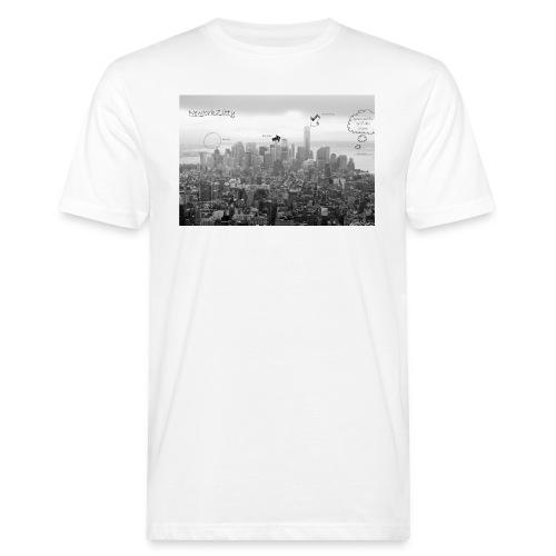 NewJorkZitty - Herren Bio - Männer Bio-T-Shirt