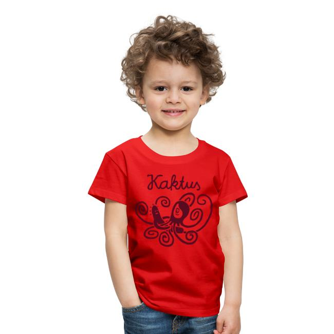 Kinder-Shirt Kaktus