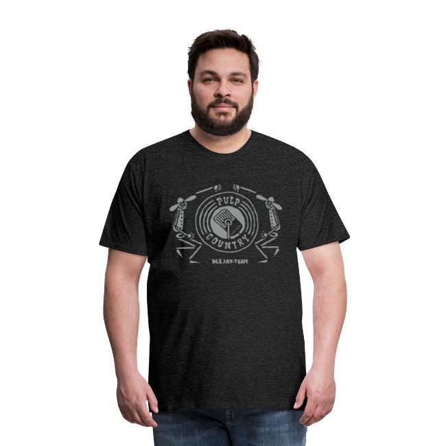 T-Shirt meliert Pulp Country