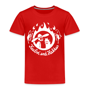 Kinder-Shirt Ring of Fire - Kinder Premium T-Shirt