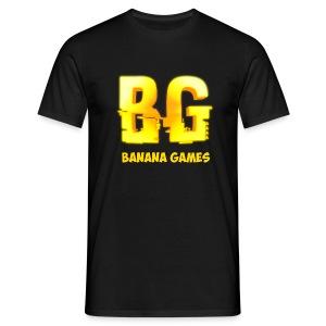 BananaGames Shirt - Zwart - Mannen T-shirt