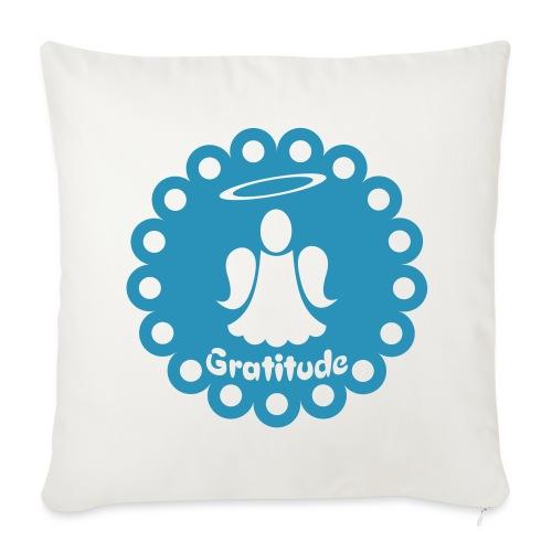 Housse de coussin décorative Ange de la gratitude - Sofa pillowcase 17,3'' x 17,3'' (45 x 45 cm)