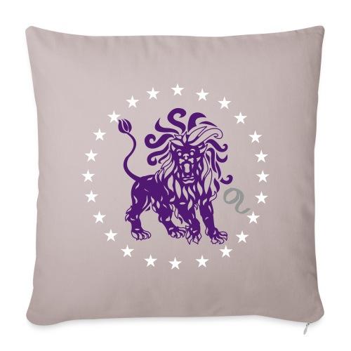 Housse de coussin signe astrologique du Lion - Sofa pillowcase 17,3'' x 17,3'' (45 x 45 cm)