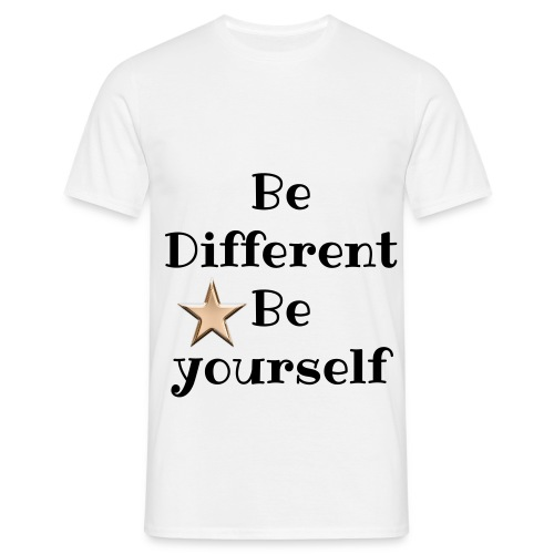 Be Different T-Shirt - T-shirt herr