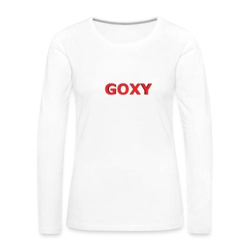 GOXY trøje - Women's Premium Longsleeve Shirt