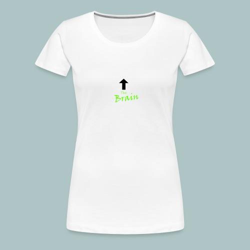 The Brain - Frauen Premium T-Shirt