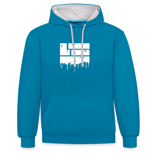 LuckyTHR Hoody - Contrast Colour Hoodie