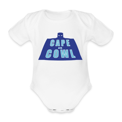 Cape and Cowl Baby Grow - Organic Short-sleeved Baby Bodysuit