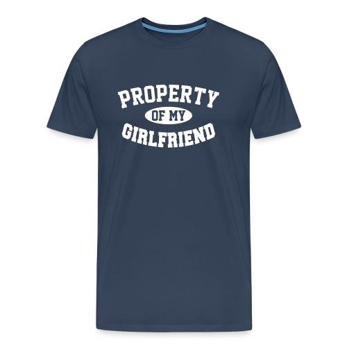 Property of my Girlfriend  - Men's Premium T-Shirt