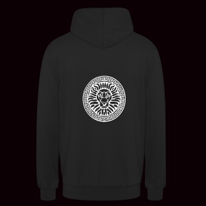 Sweatshirt Lion Grimnir Black - Sweat-shirt à capuche unisexe