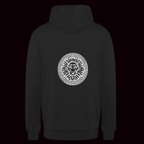 Sweatshirt Lion Grimnir Black - Sweat-shirt à capuche unisexe