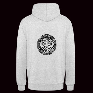 Sweatshirt Lion Grimnir White - Sweat-shirt à capuche unisexe