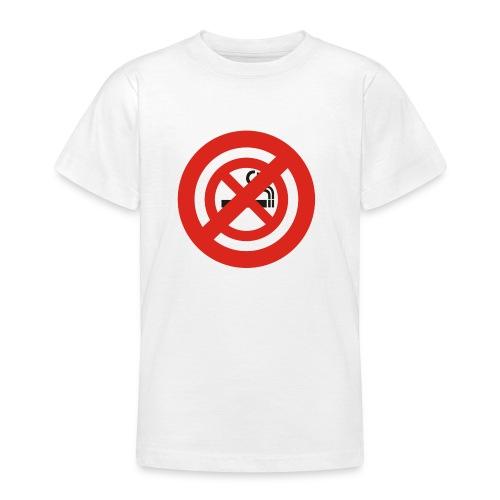 Nichtraucherverbot! [kids/white] - Teenager T-Shirt