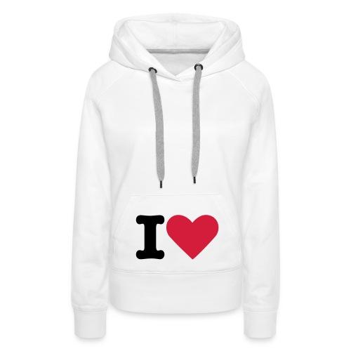 pull - Sweat-shirt à capuche Premium pour femmes