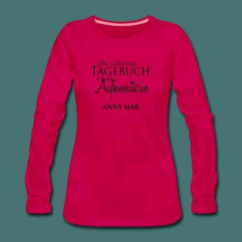Pullover - Frauen Premium Langarmshirt