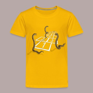 Adder Hopscotch - Kids' Premium T-Shirt