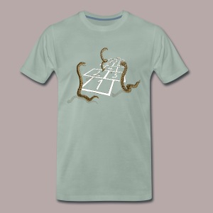 Adder Hopscotch - Men's Premium T-Shirt