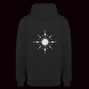 Sweatshirt Compass Grimnir Black - Sweat-shirt à capuche unisexe